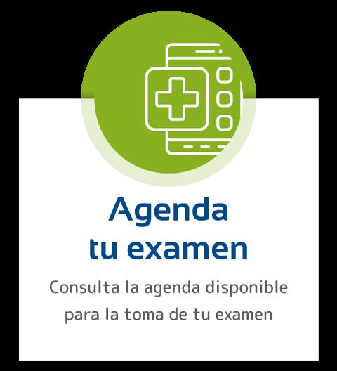 Agenda tu examen